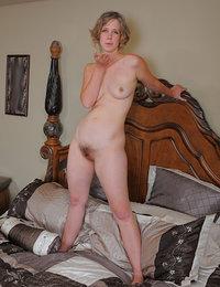 bushy pussy nude spread out