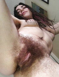 big tit hairy babes masturbating